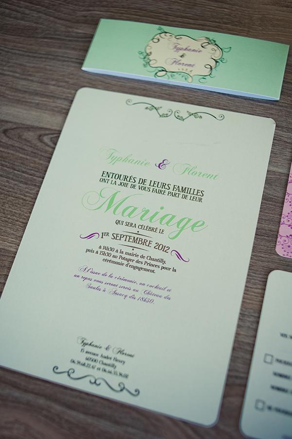 Faire part de Mariage Le Studio de Julie