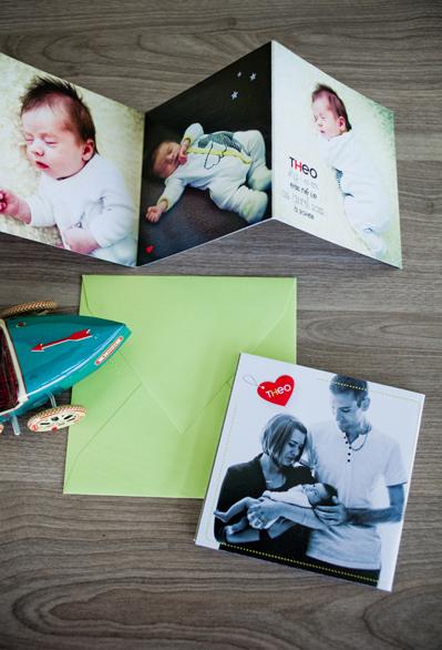 Le Studio de Julie Faire part de naissance