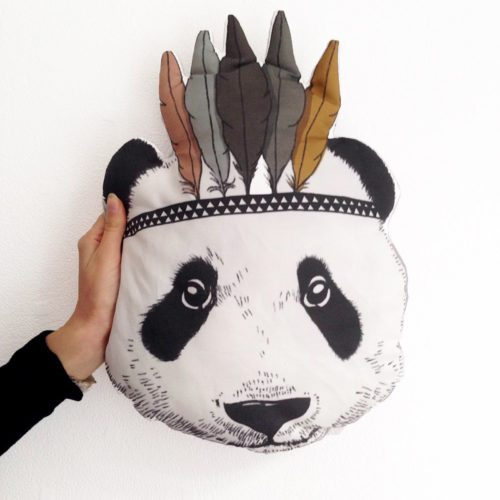 coussin-indian-panda